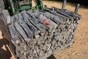 seasoned firewood for site