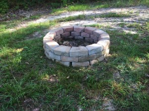 fire pit after for site